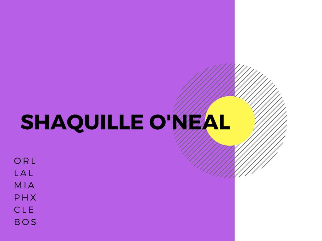 シャキールオニール