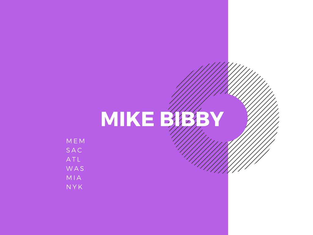 マイクビビー