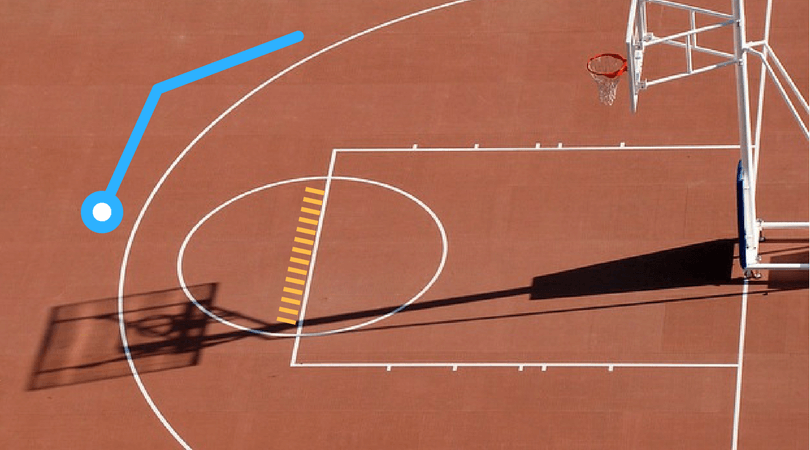 バスケットボールのとくてんn