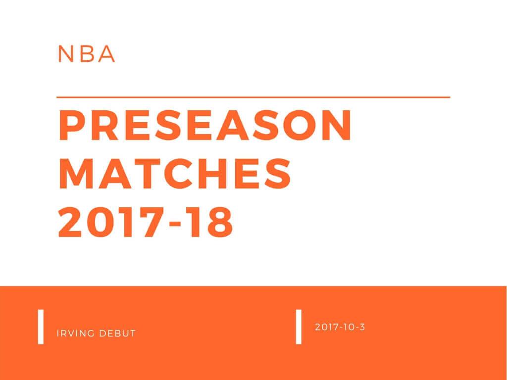 NBAプレシーズンマッチ2017-18 10/3