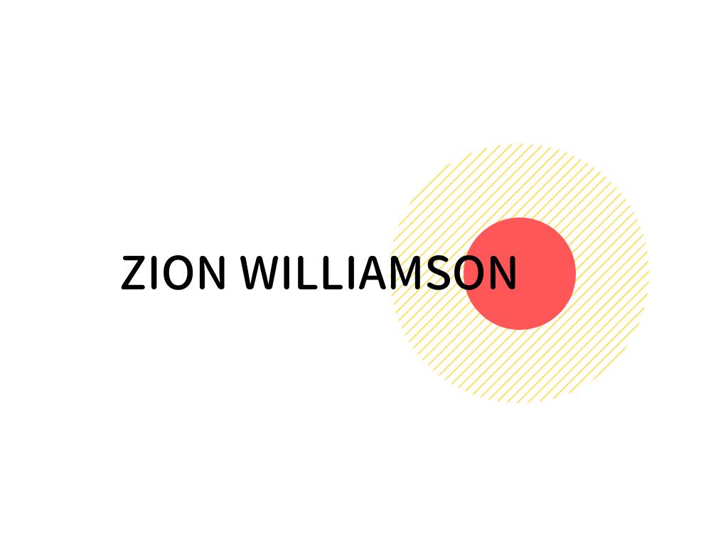 ザイオンウィリアムソン